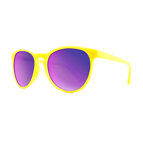 lenoor crown knockaround mai tais sunglasses yellow purple