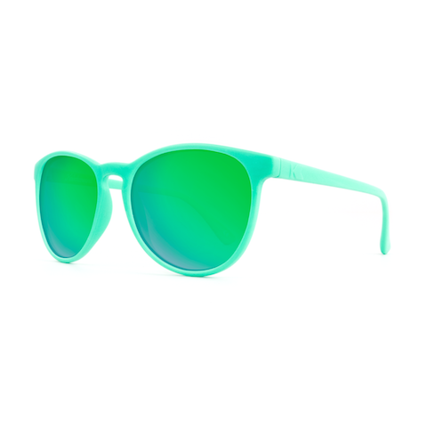 lenoor crown knockaround mai tais sunglasses wintergreen green moonshine