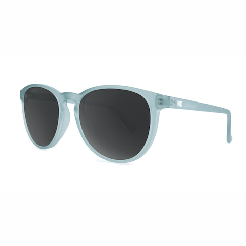 lenoor crown knockaround mai tais sunglasses frosted arctic blue smoke
