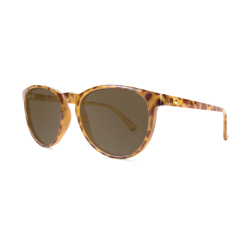 lenoor crown knockaround mai tais sunglasses blonde tortoise shell amber