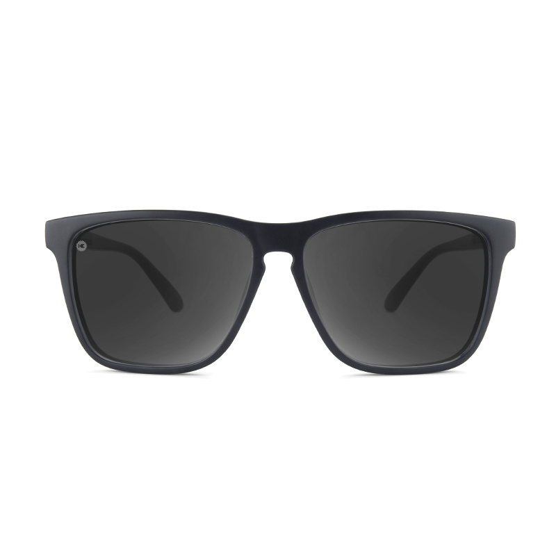 lenoor crown knockaround fast lanes sport sunglasses matte black smoke