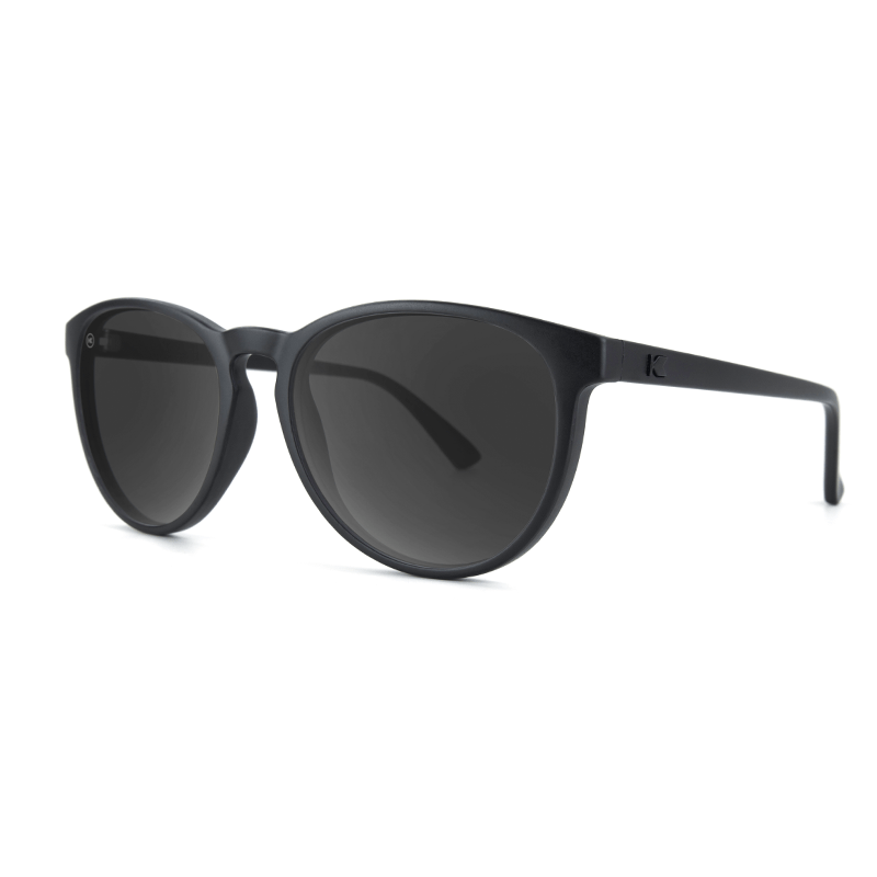 lenoor crown knockaround mai tais sunglasses black on black