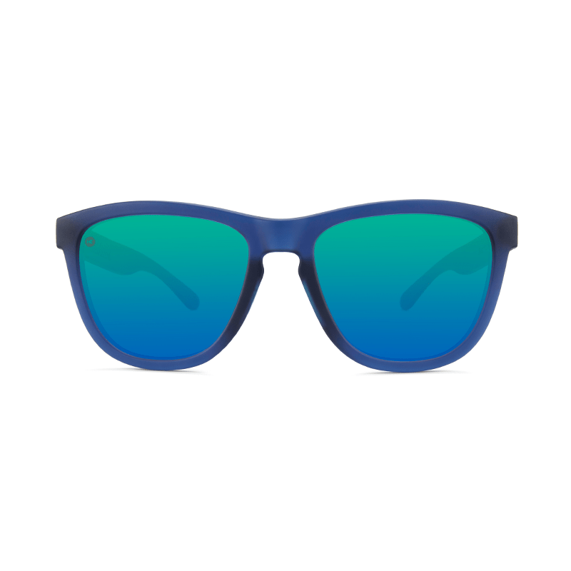 lenoor crown knockaround premiums sport sunglasses rubberized navy mint