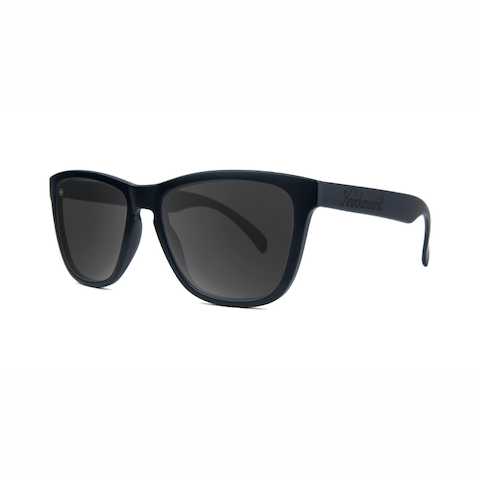lenoor crown knockaround classics sunglasses black on black