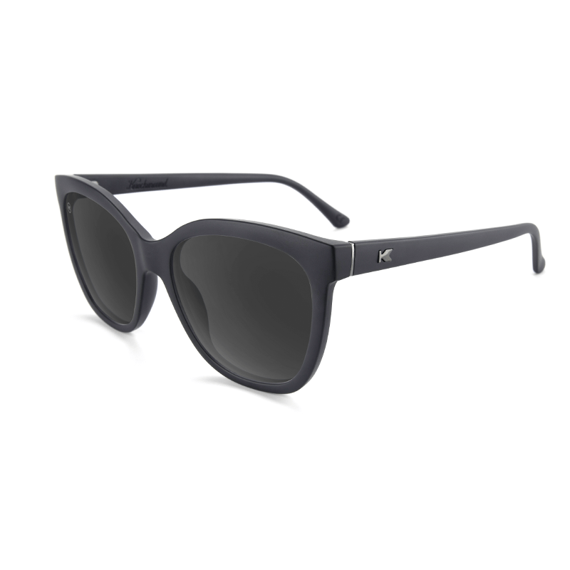 lenoor crown knockaround deja views sunglasses black on black