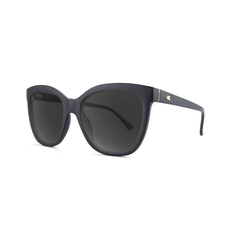 lenoor crown knockaround deja views sunglasses black smoke