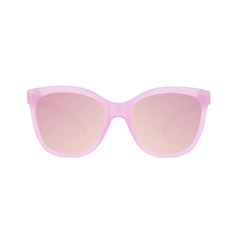 lenoor crown knockaround deja views sunglasses pink lemonade