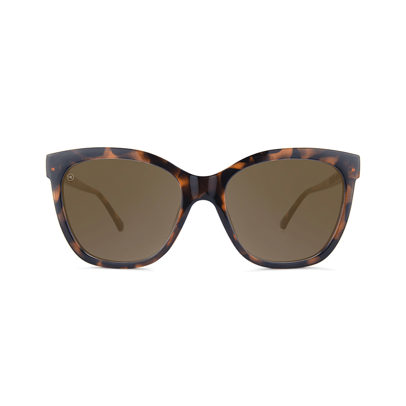 lenoor crown knockaround deja views sunglasses tortoise shell amber