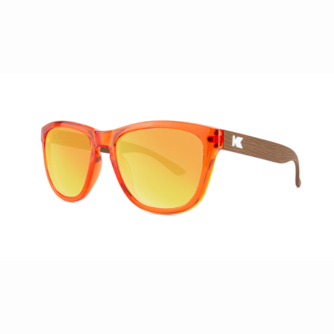 lenoor crown knockaround kids sunglasses campfire