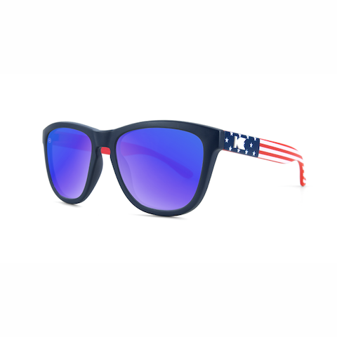 lenoor crown knockaround kids sunglasses star spangled