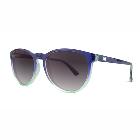 lenoor crown knockaround mai tais sunglasses indigo sky smoke gradient