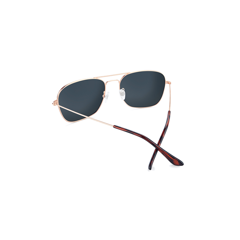 lenoor crown knockaround mount evans sunglasses rose gold copper