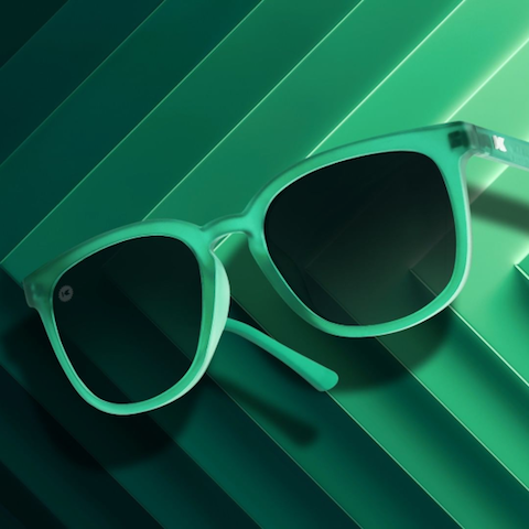 lenoor crown knockaround paso robles sunglasses emerald smoke