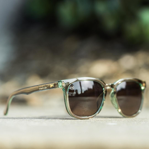 lenoor crown knockaround paso robles sunglasses aged sage amber