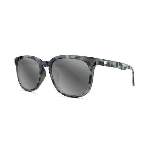 lenoor crown knockaround paso robles sunglasses granite tortoise shell silver smoke