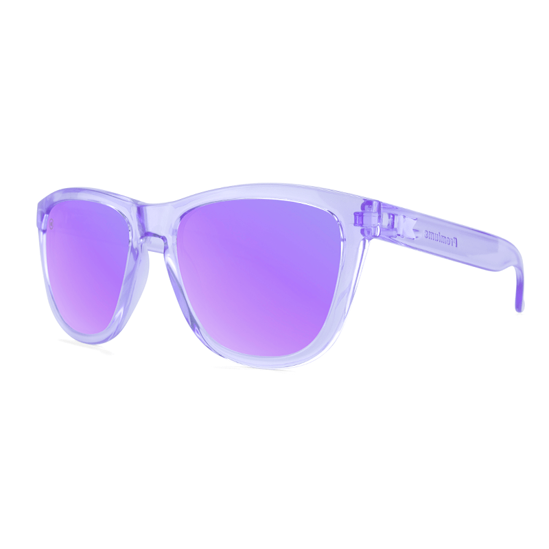lenoor crown knockaround premiums sunglasses lilac monochrome