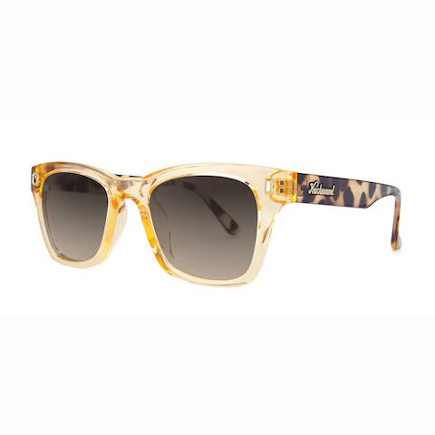 lenoor crown knockaround seventy nines sunglasses beverly peach amber
