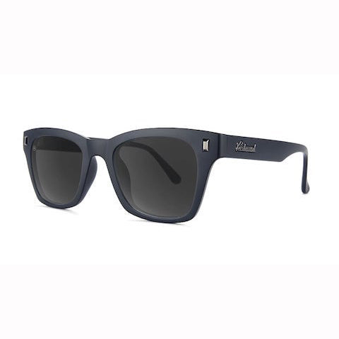 lenoor crown knockaround seventy nines sunglasses black on black