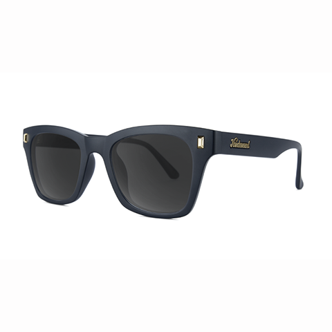 lenoor crown knockaround seventy nines sunglasses matte black smoke
