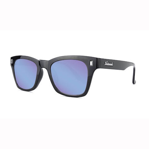 lenoor crown knockaround seventy nines sunglasses glossy black snow opal