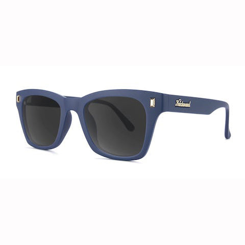 lenoor crown knockaround seventy nines sunglasses navy blue smoke
