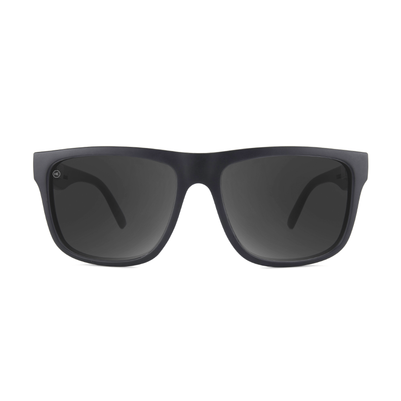 lenoor crown knockaround torrey pines sunglasses black on black