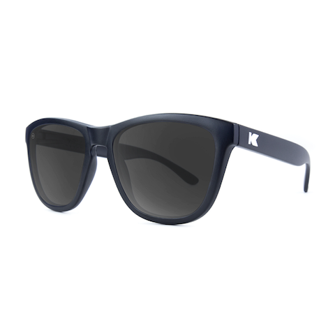 lenoor crown knockaround premiums sunglasses black smoke