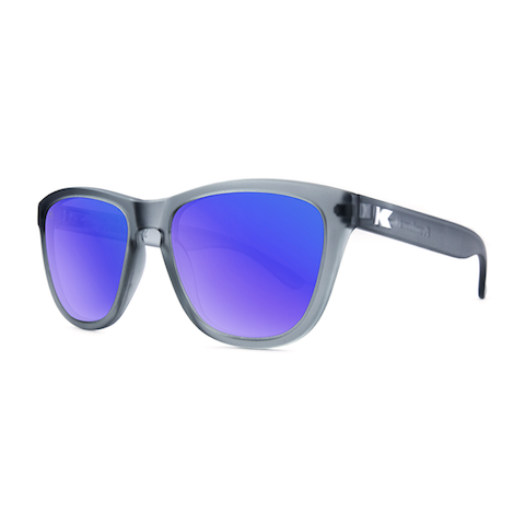 lenoor crown knockaround premiums sunglasses frosted grey moonshine