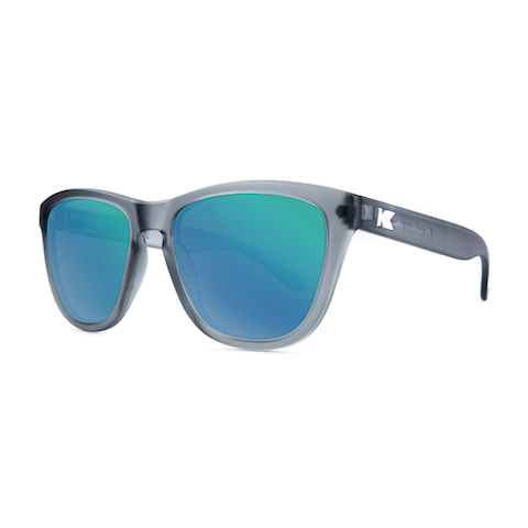lenoor crown knockaround premiums sunglasses frosted grey green moonshine