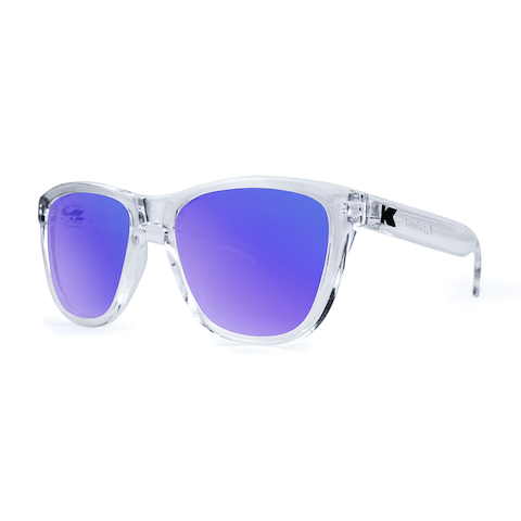 lenoor crown knockaround premiums sunglasses clear moonshine