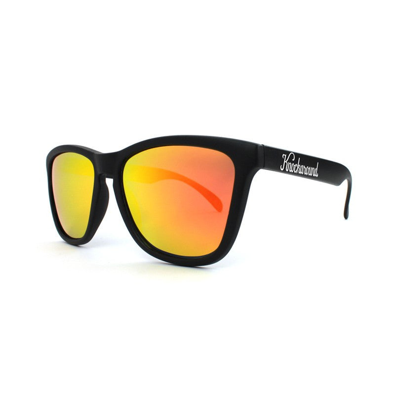 lenoor crown knockaround classics sunglasses black sunset
