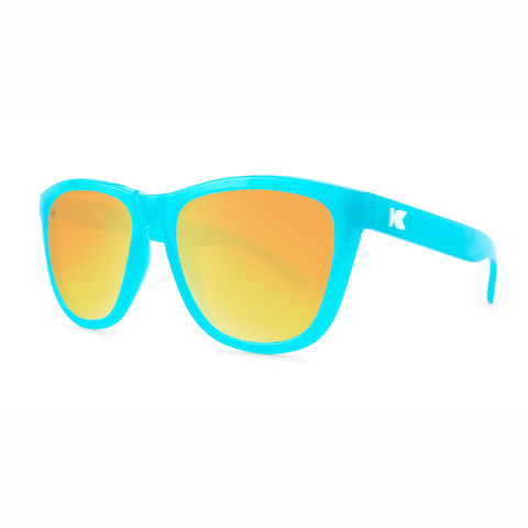 lenoor crown knockaround premiums sunglasses pool blue sunset