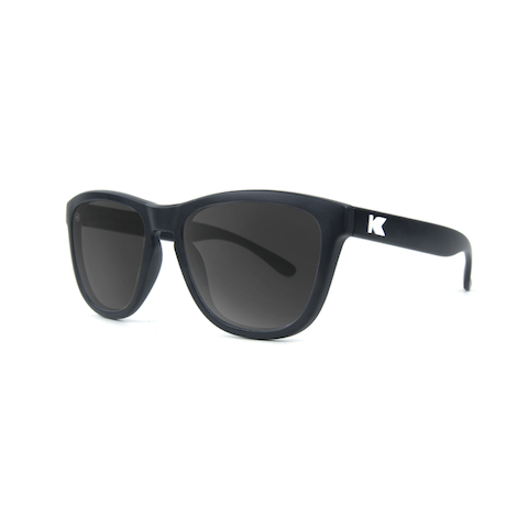 lenoor crown knockaround kids premiums sunglasses black smoke