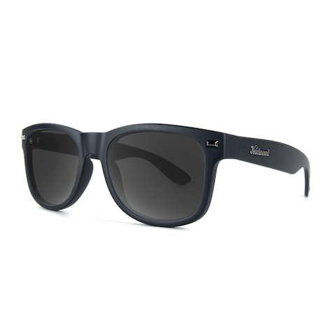 lenoor crown knockaround fort knocks sunglasses black on black