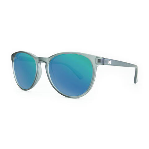 lenoor crown knockaround mai tais sunglasses frosted grey green moonshine