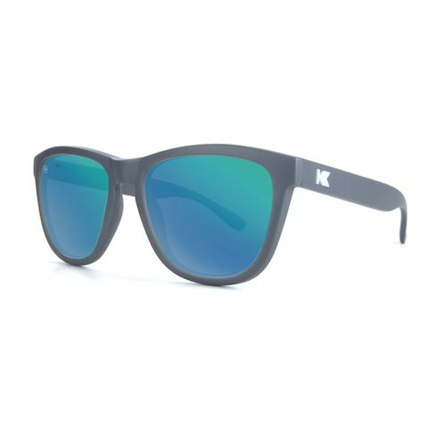 lenoor crown knockaround premiums sunglasses graphite green moonshine