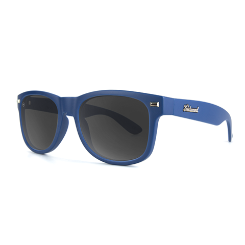 lenoor crown knockaround fort knocks sunglasses navy blue smoke