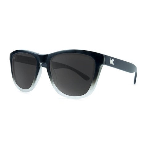 lenoor crown knockaround premiums sunglasses black ice smoke