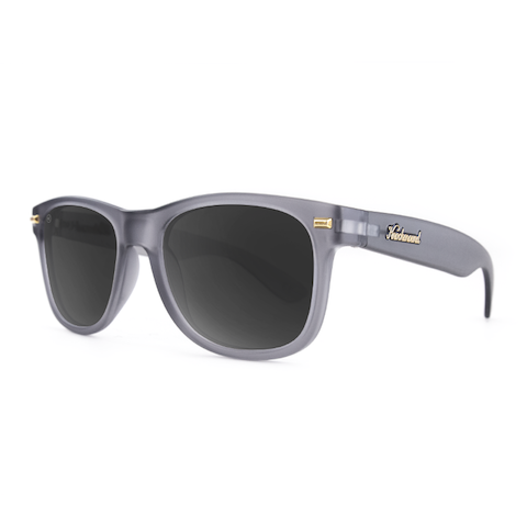lenoor crown knockaround fort knocks sunglasses frosted grey smoke