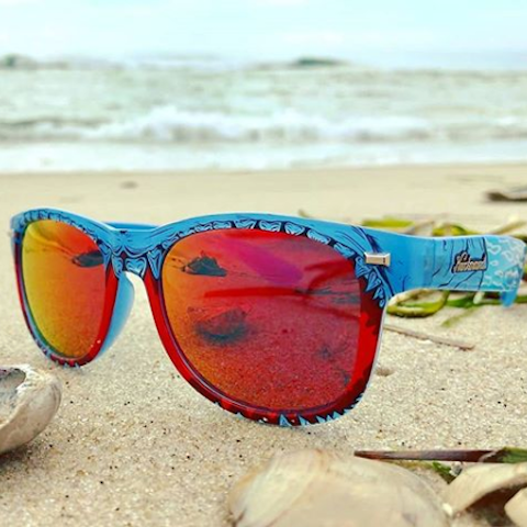 lenoor crown knockaround special releases fort knocks sunglasses shark week 2018