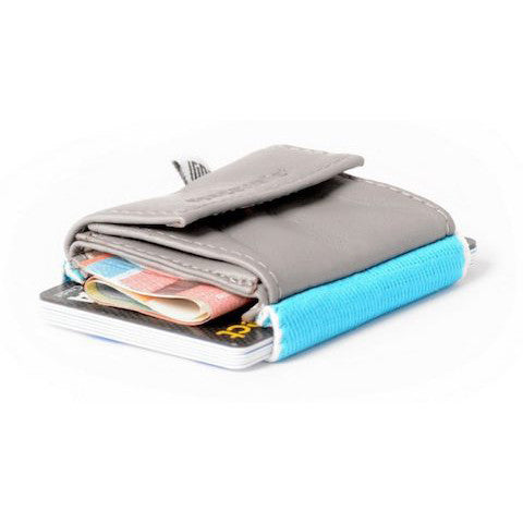 lenoor crown space wallet surfer grey 2.0 push
