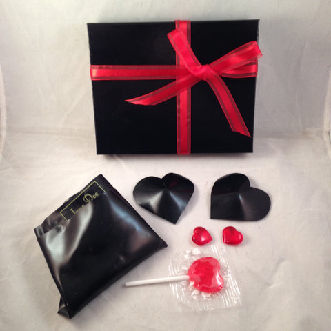 Black Heart Gift Set