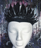 Feather spike crown