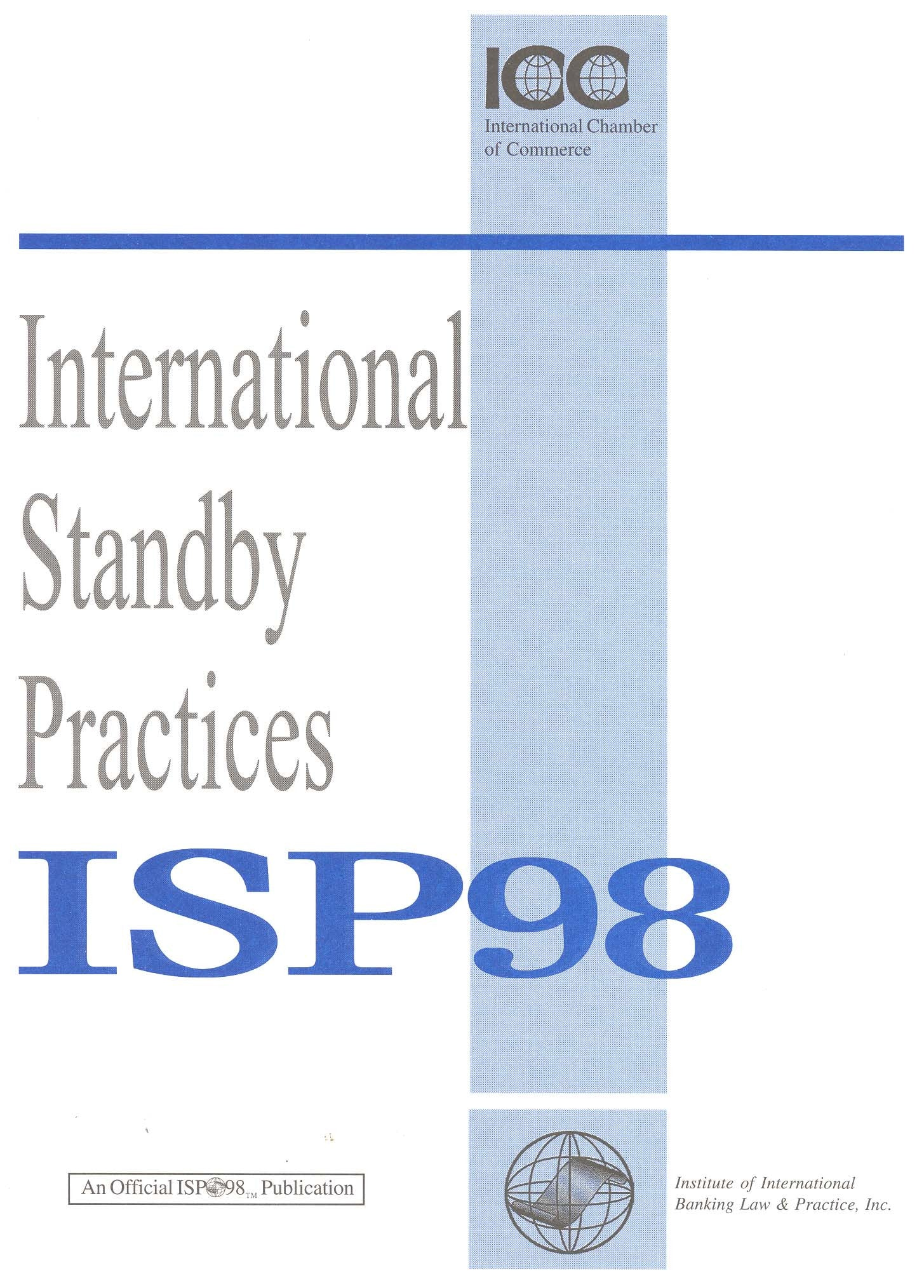 ISP98: The Rules (leaflet)