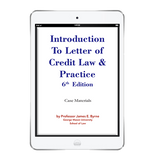 Introduction to Letter of Credit Law & Practice Ebook