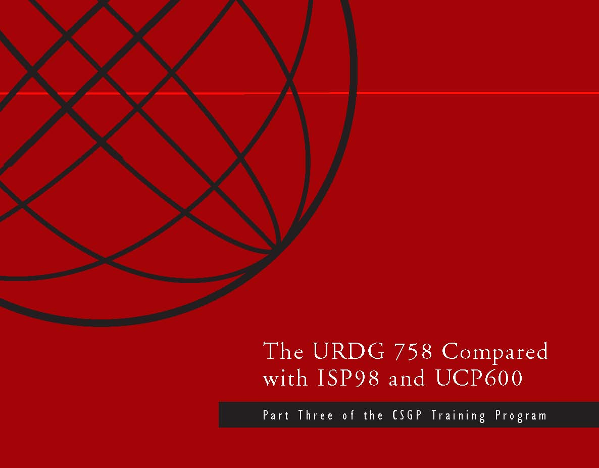 URDG 758 Compared with ISP98 & UCP600 (4 DVD Set)