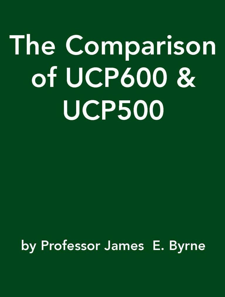 The Comparison of UCP600 & UCP500