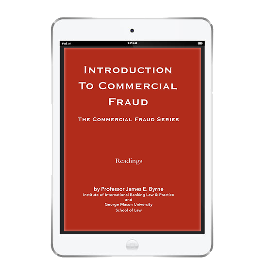 Introduction to Commercial Fraud Digital