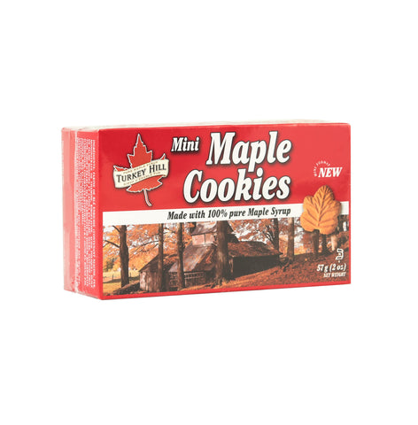 Mini Maple Cookies in a box