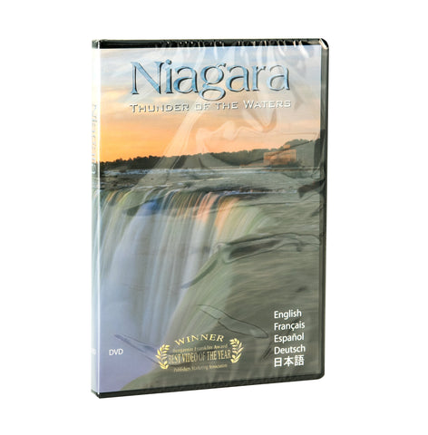 Front of DVD titled Niagara: Thunder of Waters